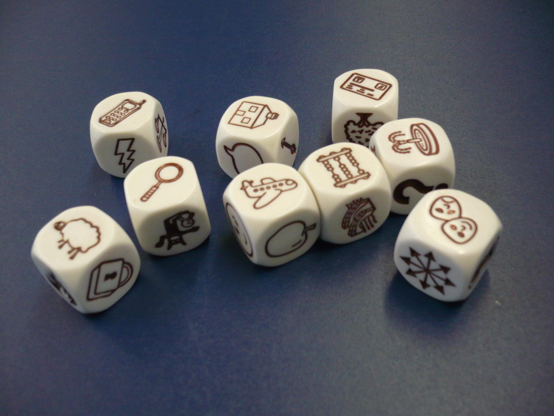 Preview image for LOM object Geschichten schreiben mit Story cubes
