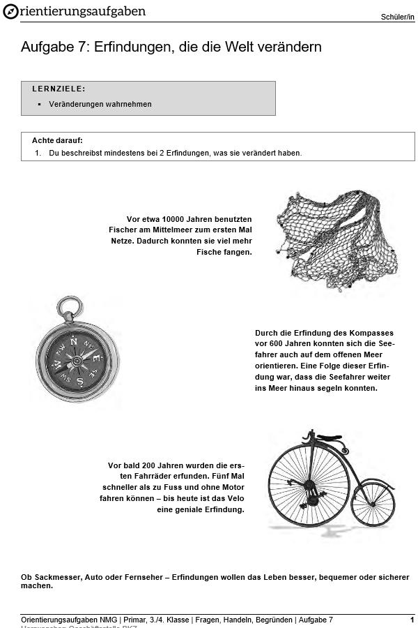 Preview image for LOM object Erfindungen, die die Welt verändern
