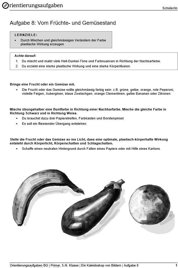 Preview image for LOM object Vom Früchte- und Gemüsestand