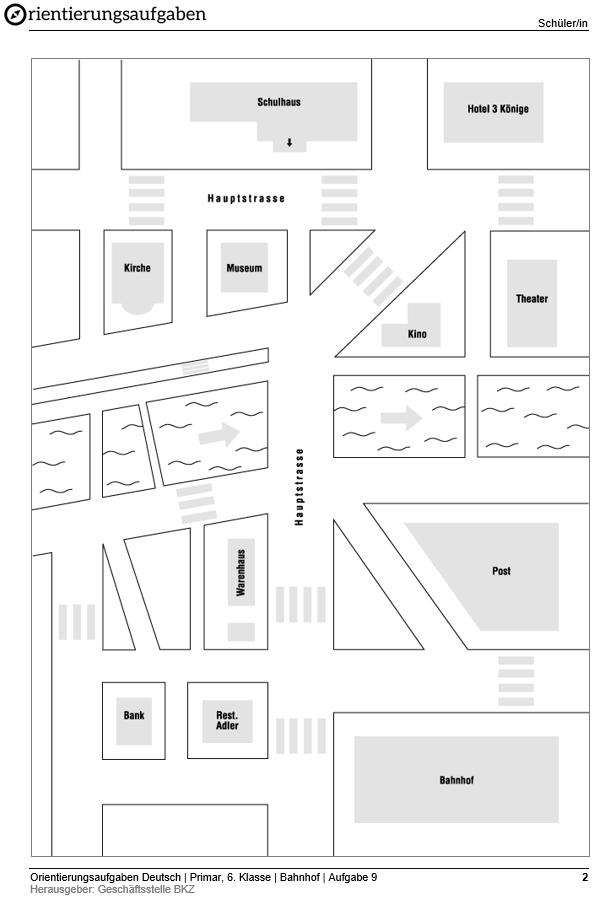Preview image for LOM object Den Weg finden - eine Wegbeschreibung lesen