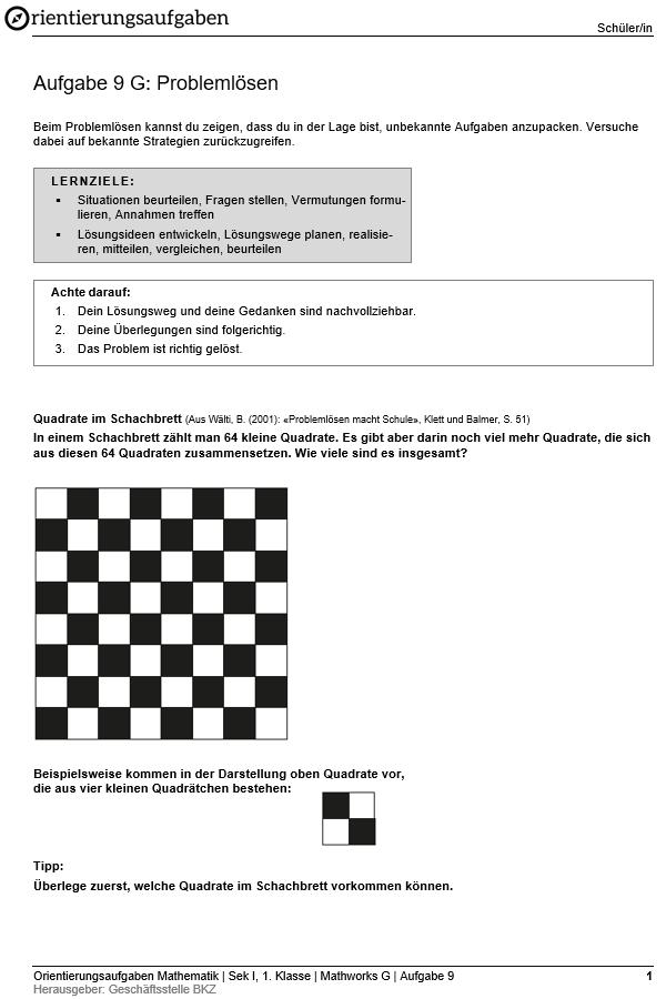 Preview image for LOM object Problemlösen (Grundanforderungen)
