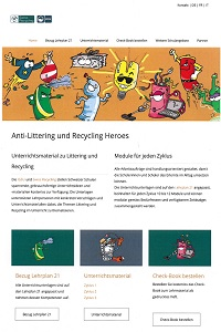 Preview image for LOM object Anti-Littering und Recycling Heroes