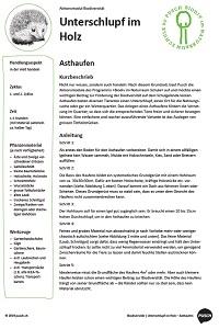 Preview image for LOM object Biodiversität im Naturraum Schule - Aktionsmodule und Unterrichtsmaterial