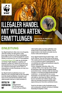 Preview image for LOM object Illegaler Handel mit wilden Arten: Ermittlungen