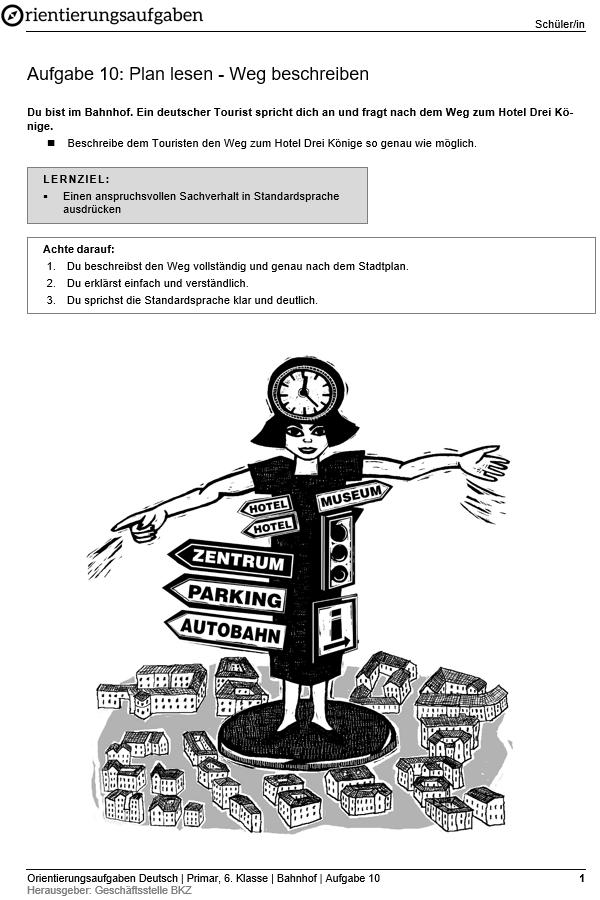 Preview image for LOM object Plan lesen - Weg beschreiben