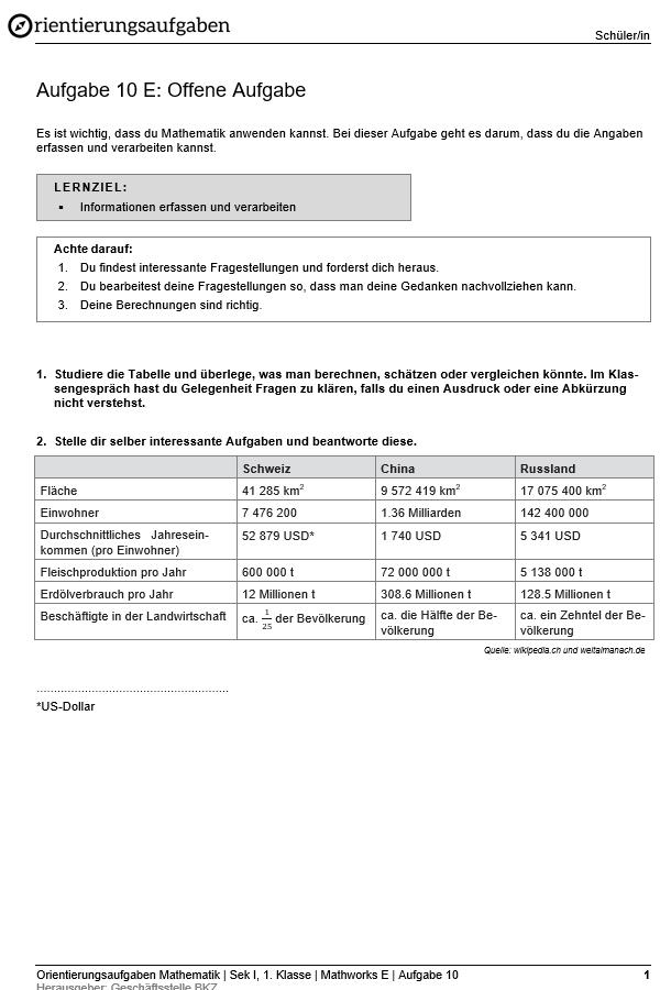Preview image for LOM object Offene Aufgabe (erweiterte Anforderungen)