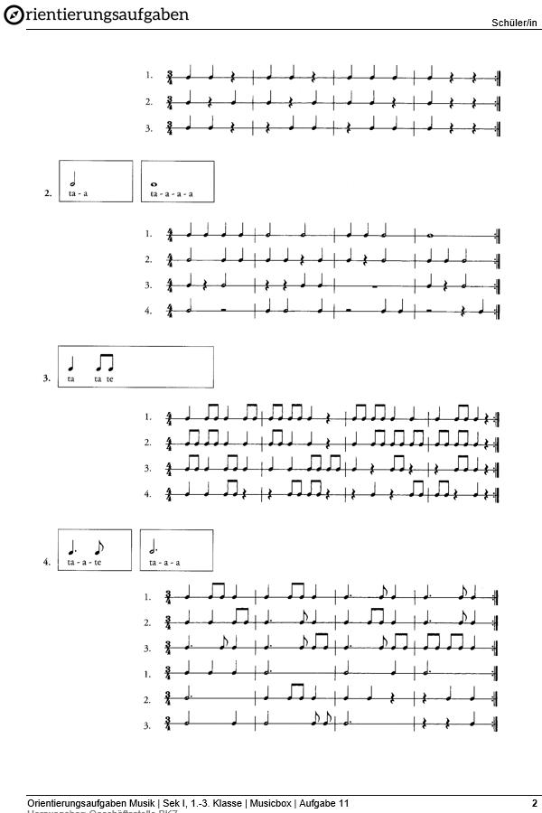 Preview image for LOM object Rhythmuspattern sprechen oder/und klatschen
