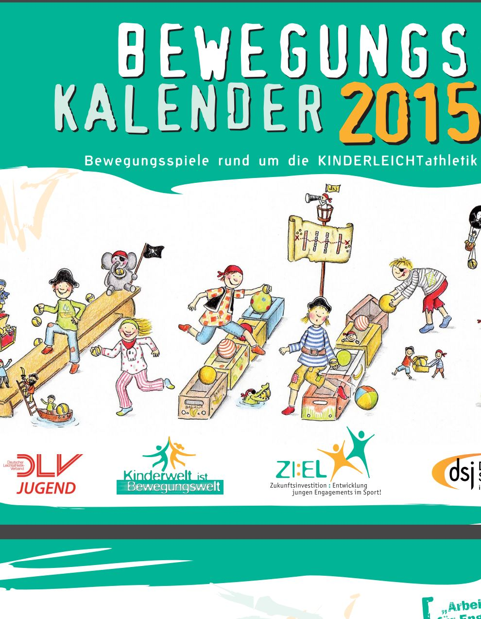 Preview image for LOM object DSJ Bewegungskalender 2015 Kinderleichtathletik