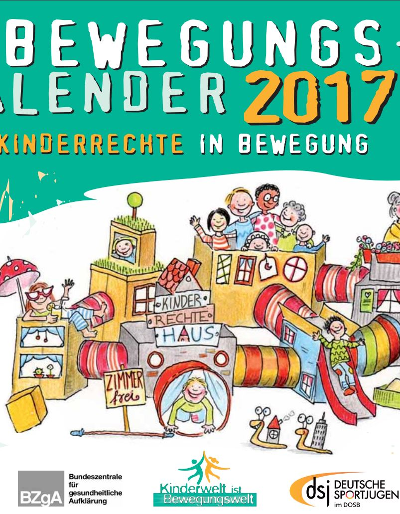 Preview image for LOM object DSJ Bewegungskalender 2017 Kinderrechte