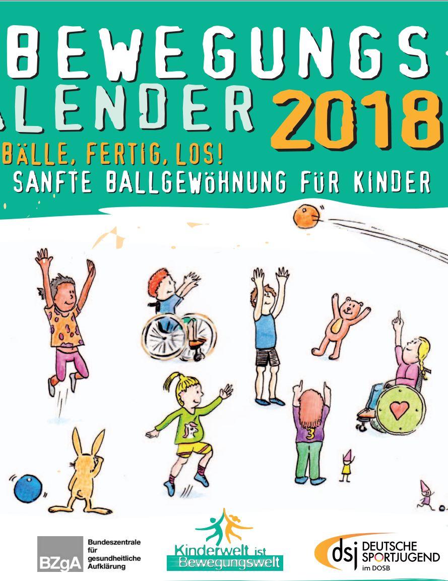 Preview image for LOM object DSJ Bewegungskalender 2018 Ballgewöhnung