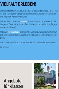 Preview image for LOM object Dialogue en Route - Unterrichtseinheiten und Arbeitsblätter