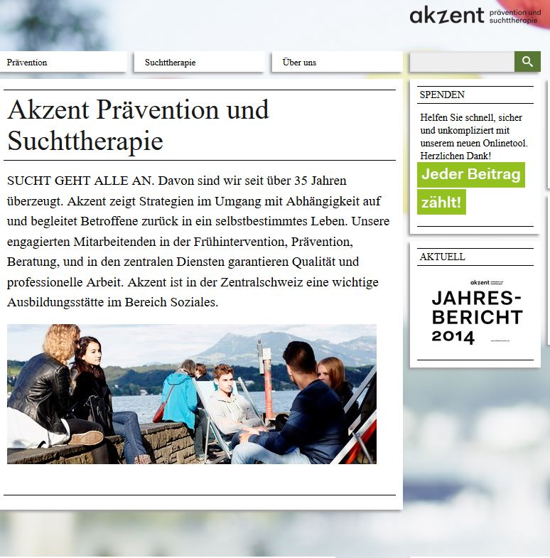 Preview image for LOM object Akzent Prävention und Suchttherapie