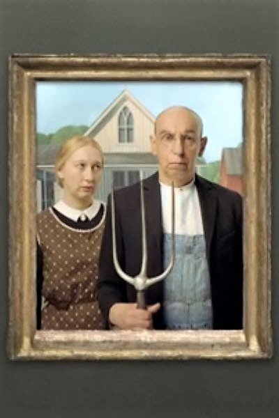 Preview image for LOM object Bilder allein zuhaus: American Gothic