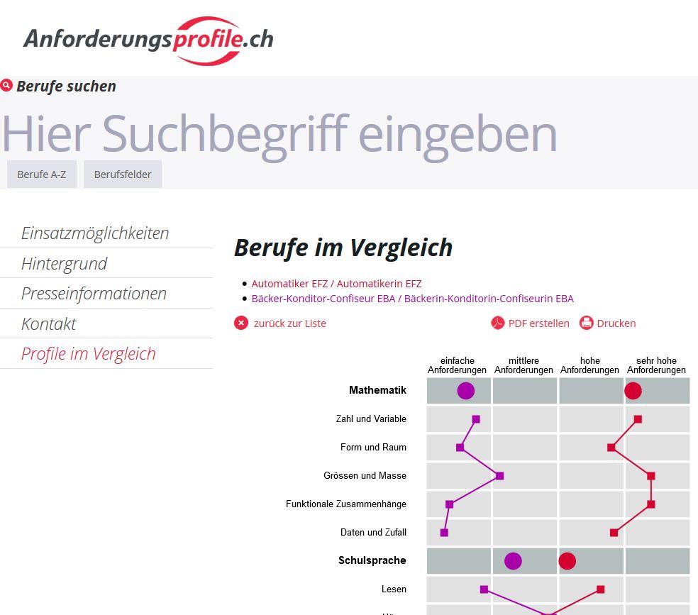 Preview image for LOM object Schulische Anforderungen an die schulische Grundbildung