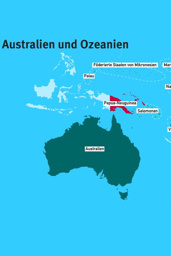 Preview image for LOM object Australien und Ozeanien