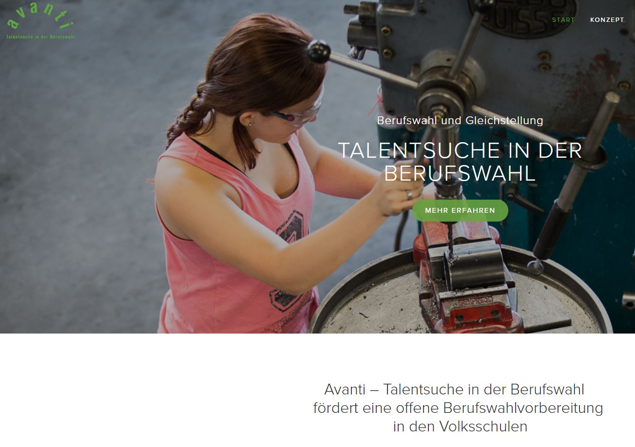 Preview image for LOM object Avanti – Talentsuche in der Berufswahl