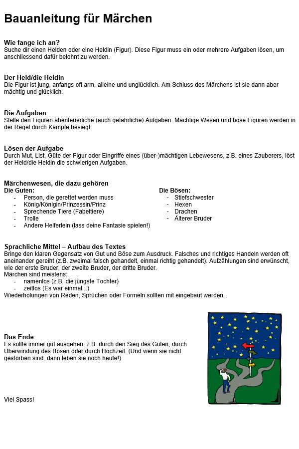 Preview image for LOM object Bauanleitung für Märchen