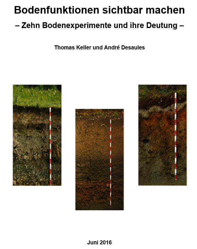 Preview image for LOM object Bodenfunktionen sichtbar machen - Zehn Bodenexperimente und ihre Deutung