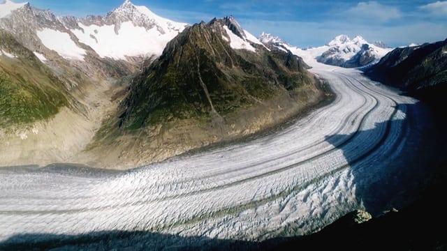 Preview image for LOM object Bergwelt Schweiz: Aletschgletscher – Das grosse Schmelzen