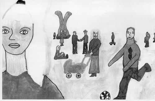 Preview image for LOM object Menschengruppen_Möglichkeiten der Körper-Raum-Darstellung kennenlernen und anwenden
