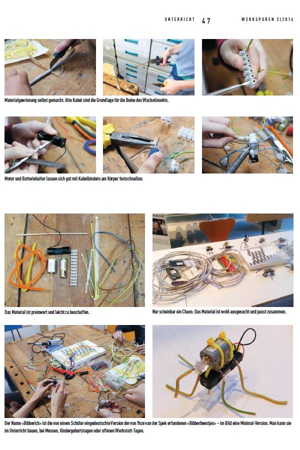 Preview image for LOM object Bibberich-Workshop: Wackeltiere selber bauen aus Elektroschrott