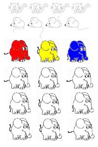 Preview image for LOM object Bilder ändern und Rätsel machen (wer findet die Unterschiede)