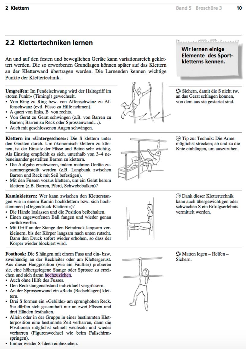 Preview image for LOM object Klettern lernen