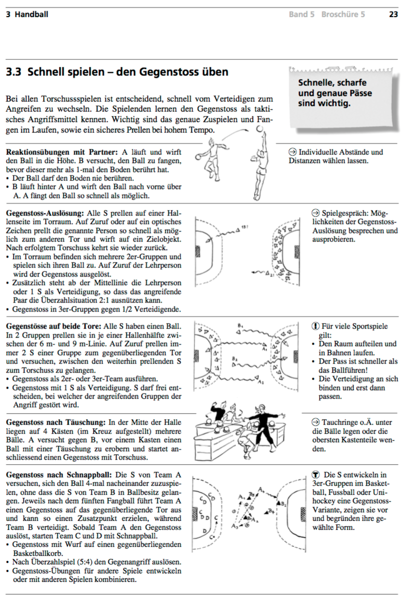 Preview image for LOM object Handball - Gegenstoss üben