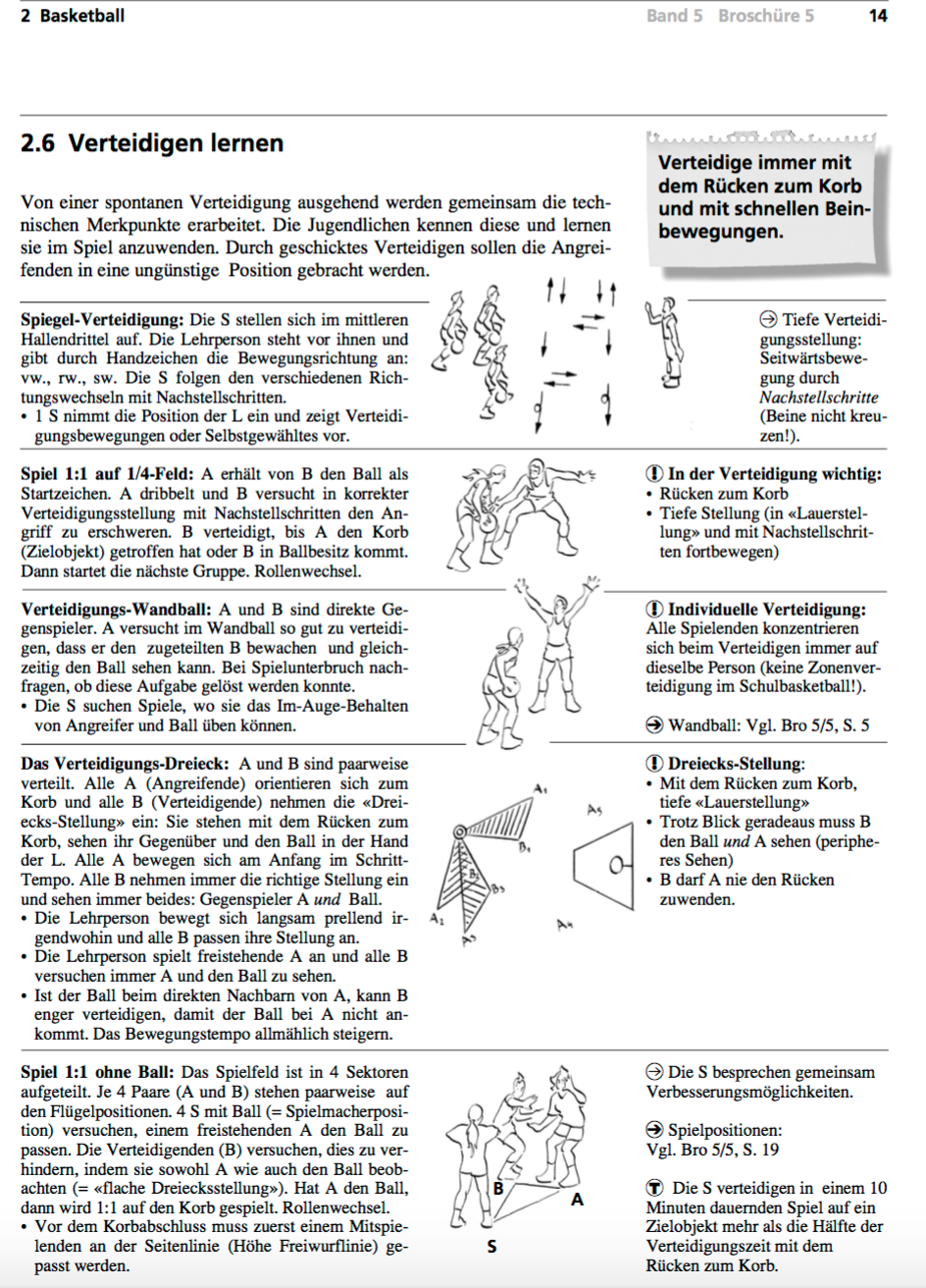 Preview image for LOM object Basketball - Verteidigen lernen