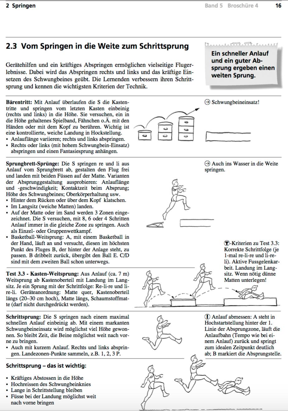 Preview image for LOM object Weitsprung- Schneller Anlauf, guter Absprung