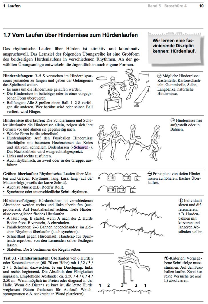 Preview image for LOM object Hürdenlauf - vom Laufen über Hindernisse zum Hürdenlauf