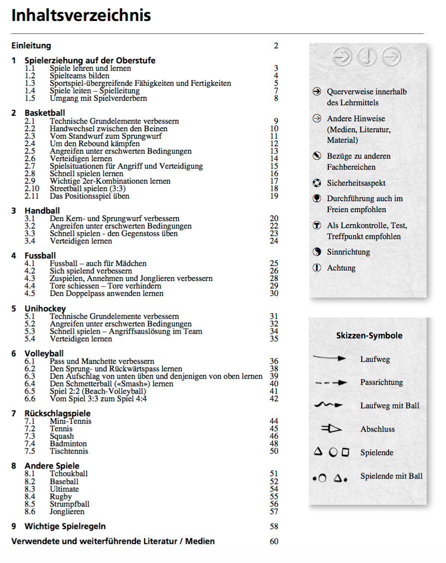 Preview image for LOM object Lehrmittel Sporterziehung 5: 6. - 9. Schuljahr: Broschüre 5
