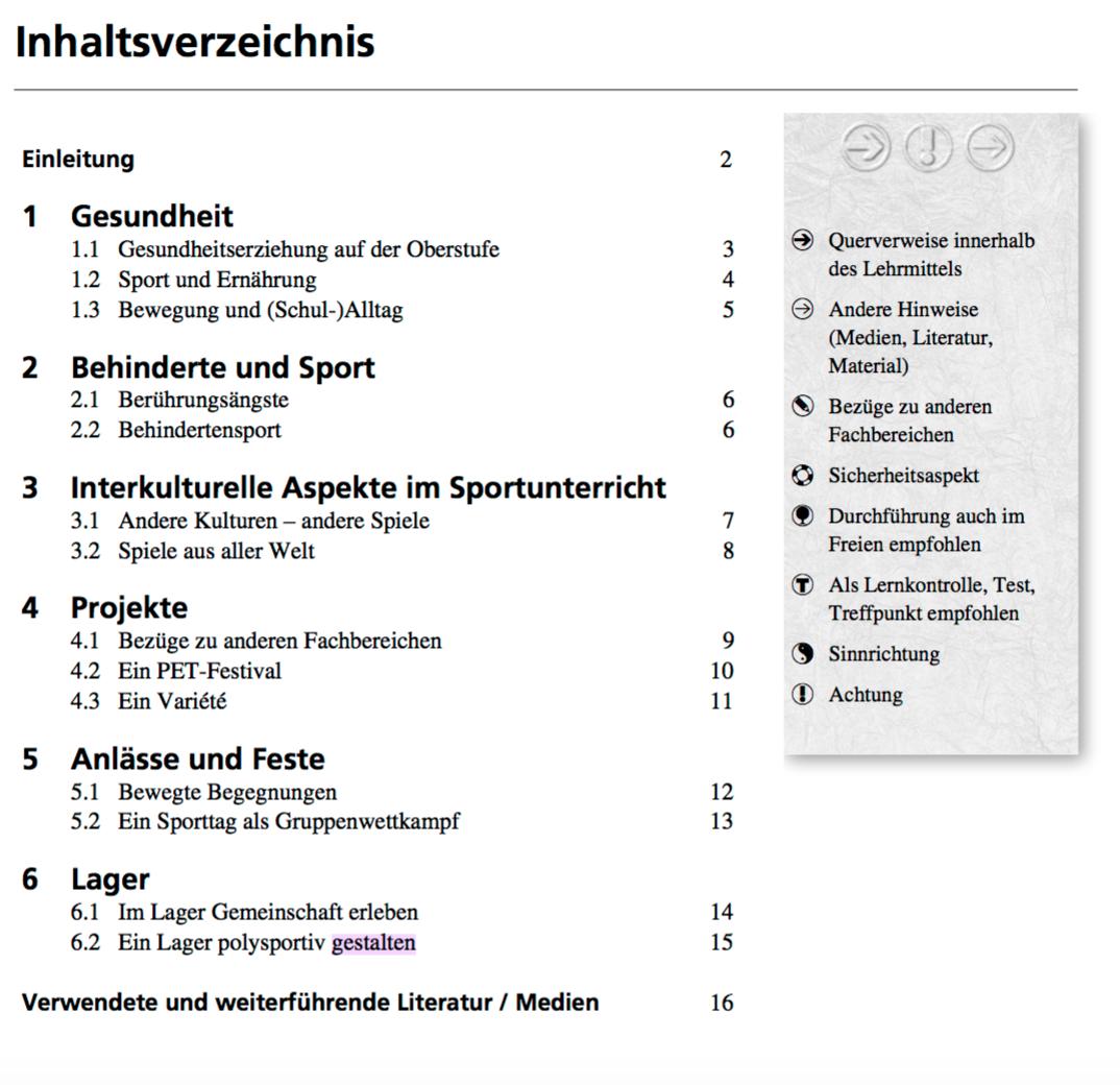 Preview image for LOM object Lehrmittel Sporterziehung 5: 6. - 9. Schuljahr: Broschüre 7