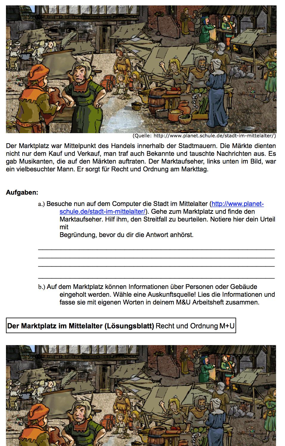 Vignette pour un objet LOM Stadt im Mittelalter