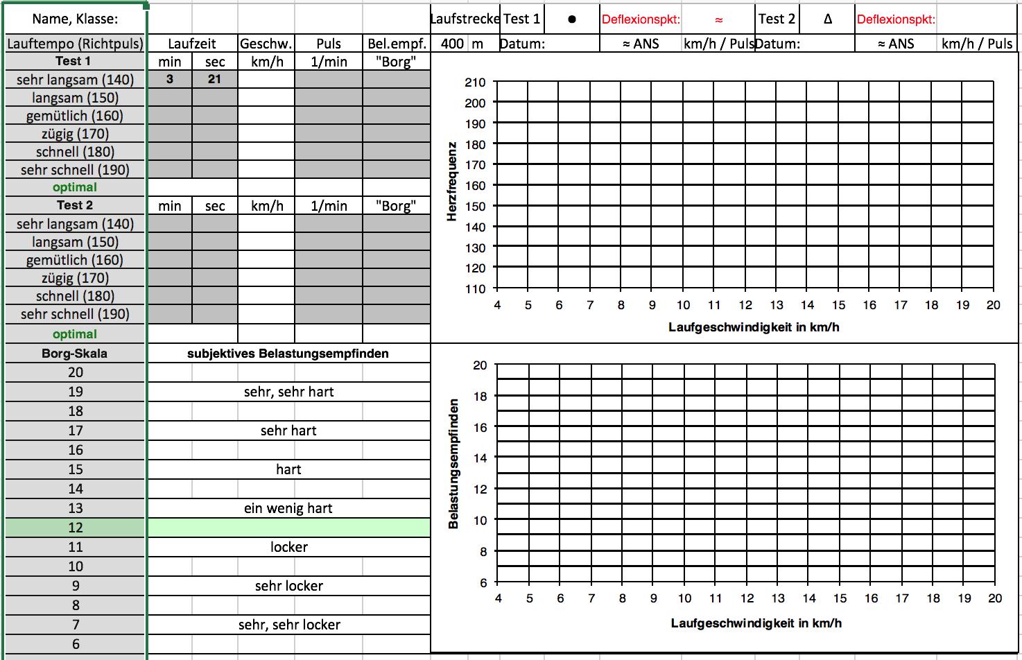 Preview image for LOM object Ausdauer-Lauftest