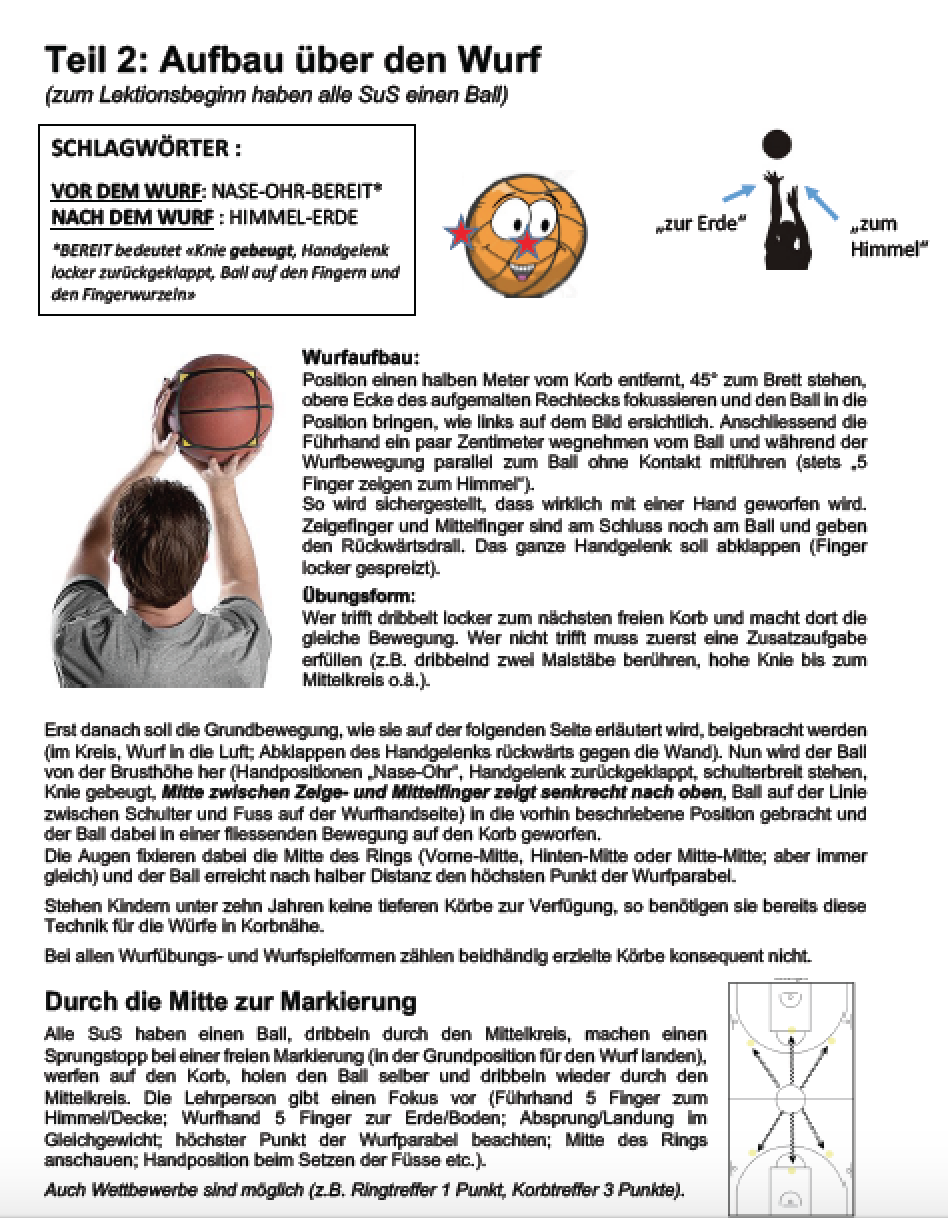 Preview image for LOM object Basketball - Werfen