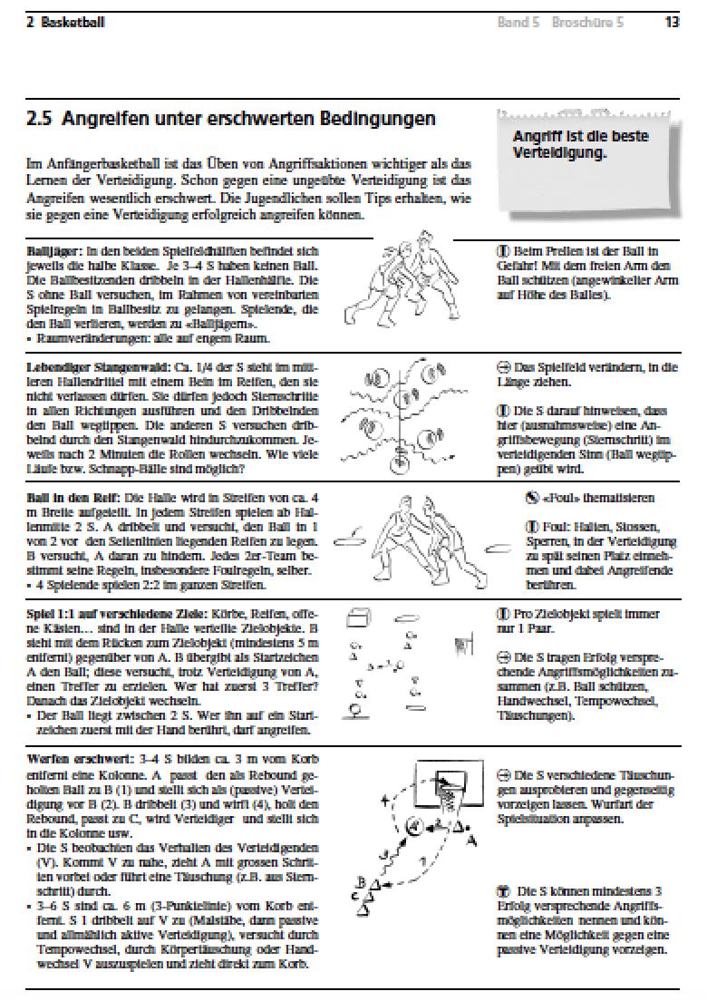 Preview image for LOM object Basketball - Angreifen unter erschwerten Bedingungen