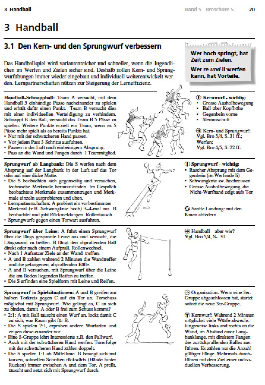Preview image for LOM object Handball - Kern- und Sprungwurf verbessern