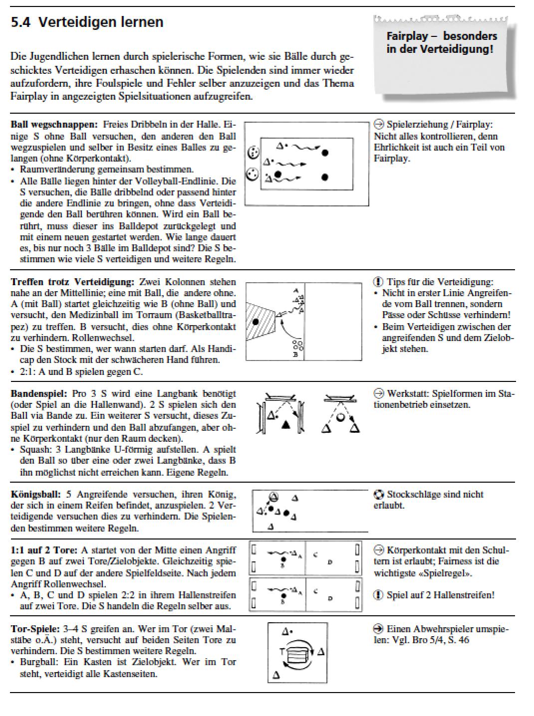 Preview image for LOM object Unihockey - Verteidigen lernen