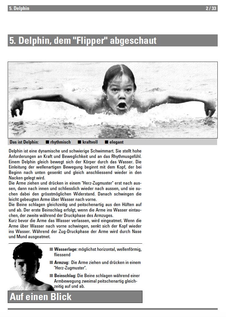 Preview image for LOM object Delphin - Lehrmittel Schwimmen