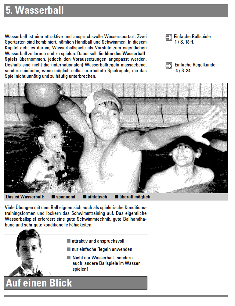 Preview image for LOM object Wasserball 2 - Lehrmittel Schwimmen