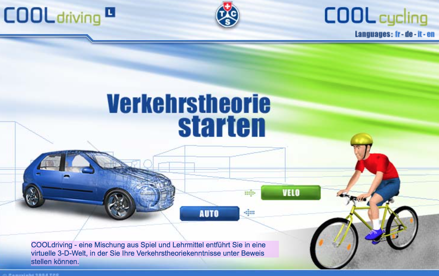 Preview image for LOM object Verkehrssicherheit mit dem Velo