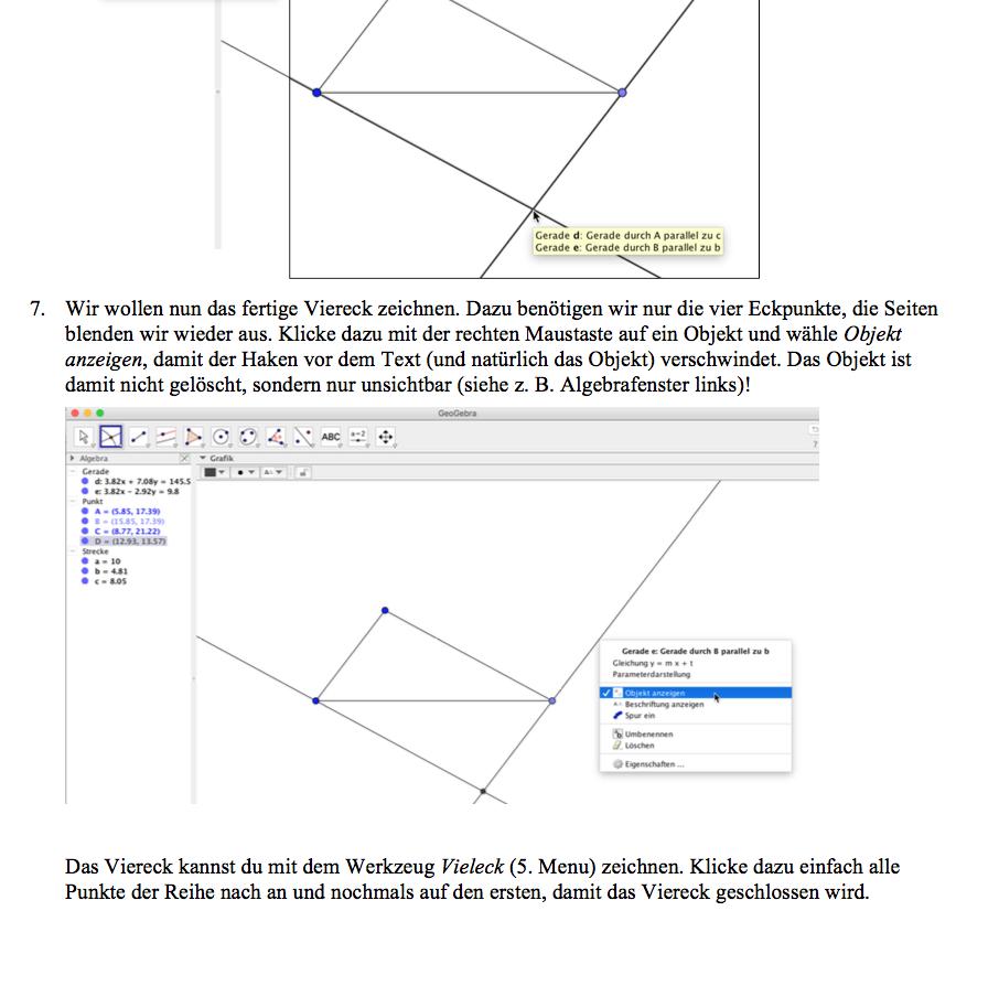 Preview image for LOM object Niederschwellige Geogebra-Einführung für Lernende im regulären Mathematikunterricht