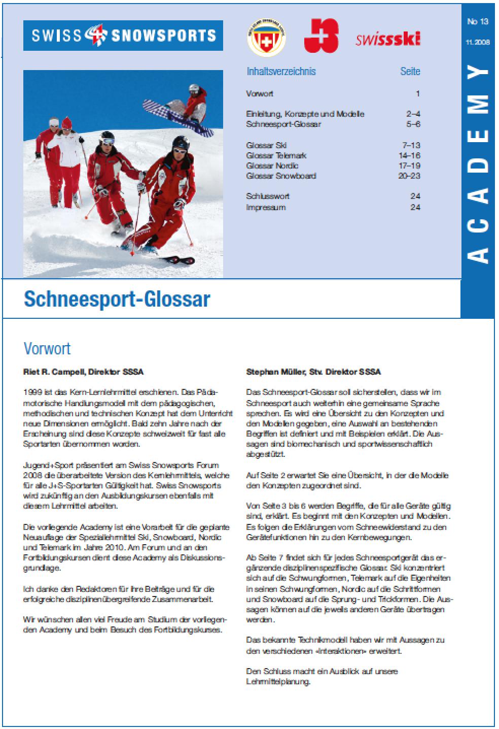 Preview image for LOM object Kernbewegungen im Schneesport