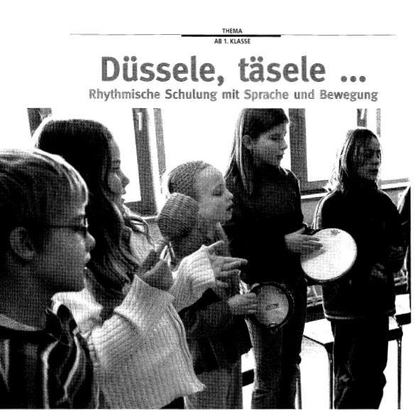 Preview image for LOM object Rhythmische Schulung mit Sprache und Bewegung
