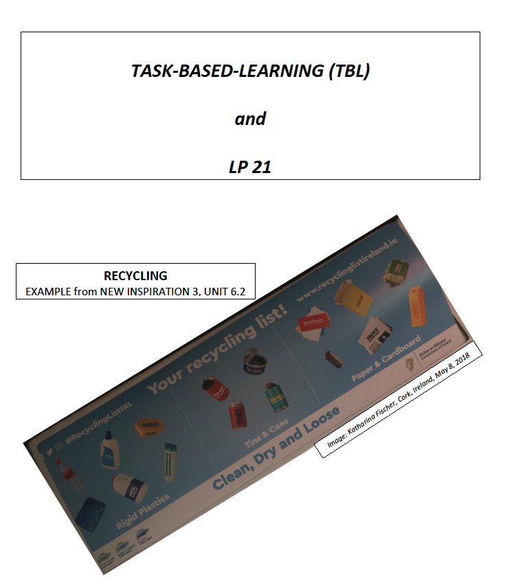 Preview image for LOM object Task-based Learning & LP21: Beispiel aus New Inspiration 3 (Unit 6/Lesson 2)