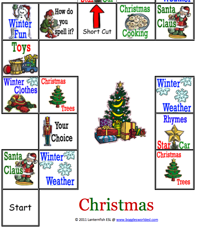 Preview image for LOM object Christmas Board Game