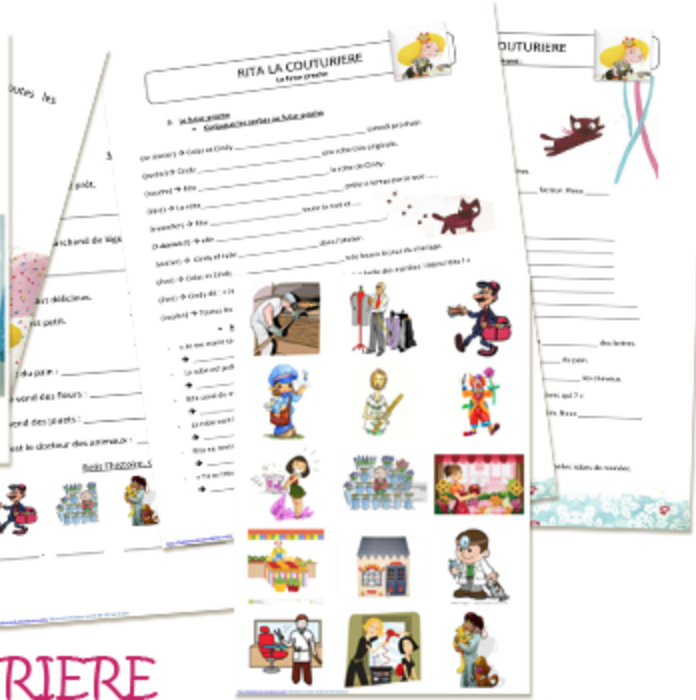 Preview image for LOM object L'histoire: Rita la couturière