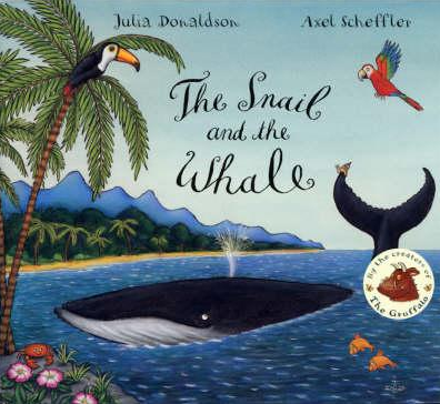Preview image for LOM object Mini-Book zum Bilderbuch: The snail and the whale
