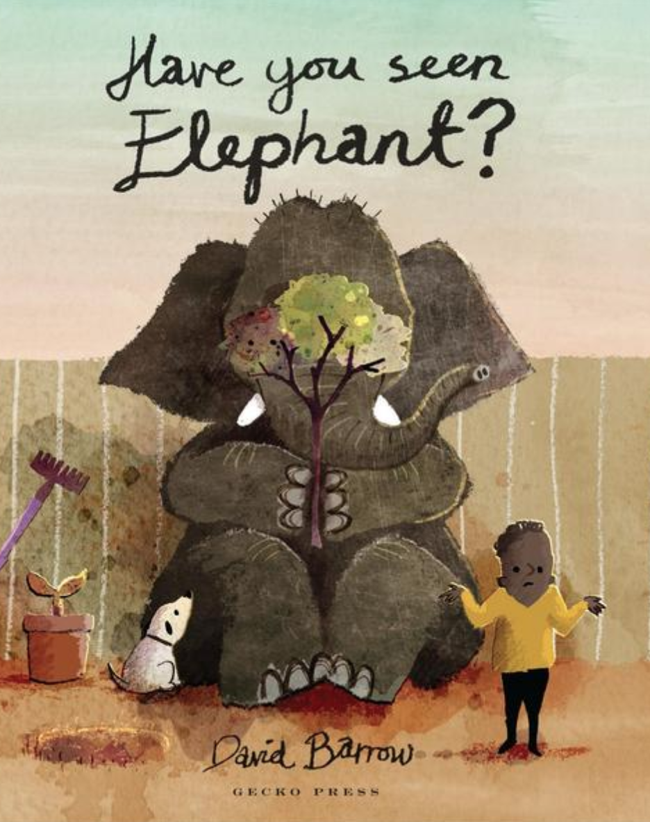 Preview image for LOM object Mini-Book zum Bilderbuch: Have you seen elephant?